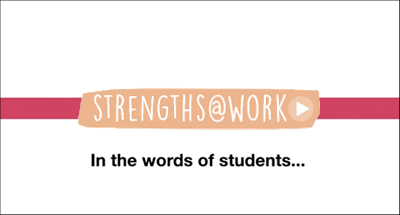 Link to Strengths Week Video