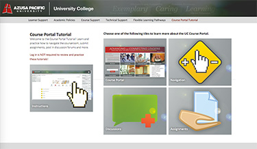 Course Portal Tutorial Link