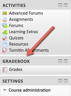 Image of the new Gradebook Block that will be added to the Course Portal on 6/17/2017